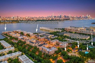 Edgewater Condo/Townhouse For Sale: Ph1 Penn Court