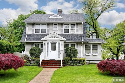 Hasbrouck Heights Single Family Home For Sale: 254 Terrace Avenue