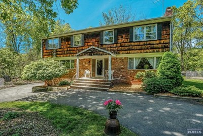 Franklin Lakes Single Family Home For Sale: 245 Tortoise Lane