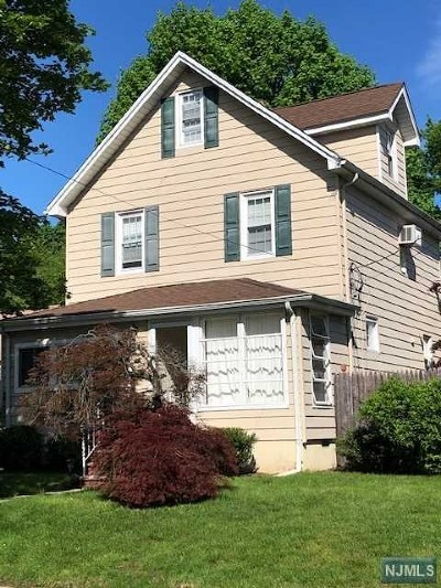 Hackensack Single Family Home For Sale: 229 Wilson Street