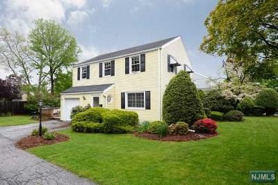 River Edge Single Family Home For Sale: 292 Monroe Avenue