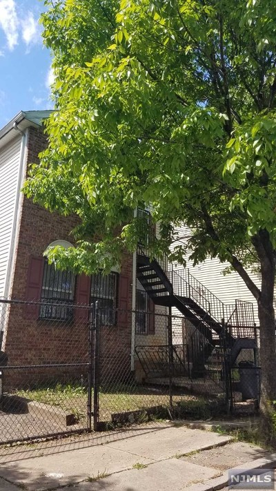 Paterson Multi Family 2-4 For Sale: 23-27 Holsman Street