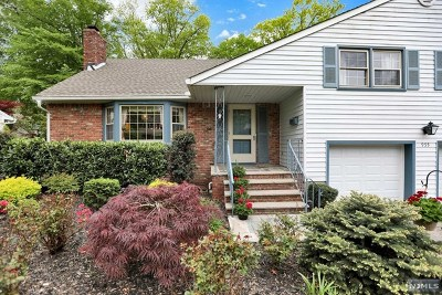 Oradell Single Family Home For Sale: 955 Midland Road