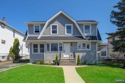 Cliffside Park Single Family Home For Sale: 65 Lawton Avenue