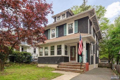 Rutherford Single Family Home For Sale: 169 West Newell Avenue