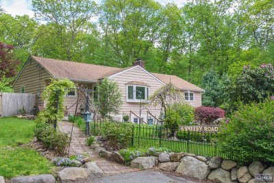 Morris County Single Family Home For Sale: 6 Valley Road