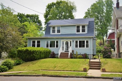 Hudson County Single Family Home For Sale: 52 Terrace Place