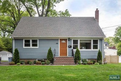Dumont Single Family Home For Sale: 185 Lincoln Avenue