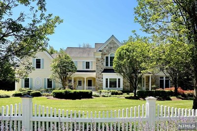 Upper Saddle River Single Family Home For Sale: 58 Rolling Ridge Road