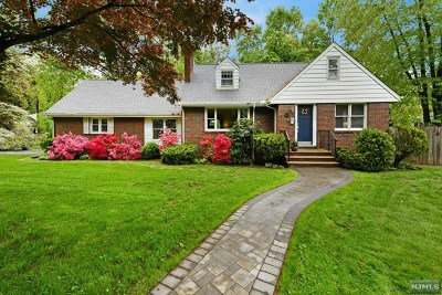 Wyckoff Single Family Home For Sale: 242 Franklin Avenue