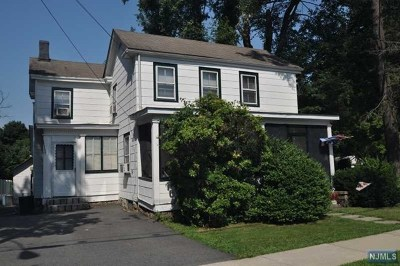 Boonton Town Single Family Home For Sale: 122 Chestnut Street