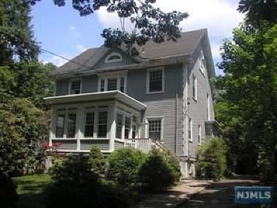 Leonia Single Family Home For Sale: 207 Park Avenue