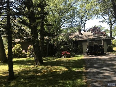Woodcliff Lake Single Family Home For Sale: 83 Rose Avenue