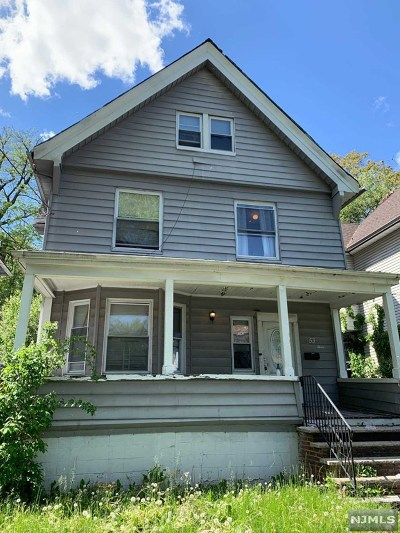 Essex County Single Family Home For Sale: 51-53 West End Avenue