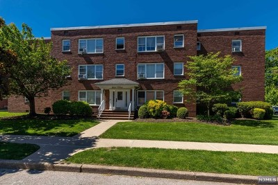 Bergen County Condo/Townhouse For Sale: 135 Hobart Avenue #3d