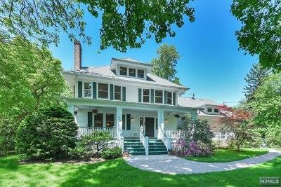 Tenafly Single Family Home For Sale: 511 Knickerbocker Road