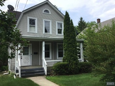 Closter Single Family Home For Sale: 10 Clarke Street