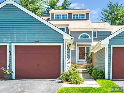 Mahwah Condo/Townhouse For Sale: 182 Grandview Lane
