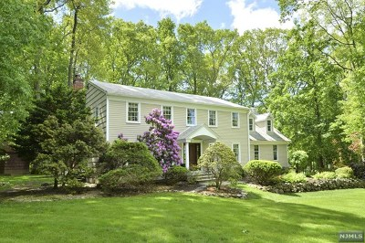 Montvale Single Family Home For Sale: 59 Huff Terrace