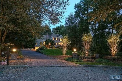 Franklin Lakes NJ Single Family Home For Sale: $1,175,000
