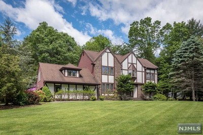 Upper Saddle River Single Family Home For Sale: 36 Hillcrest Drive