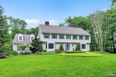 Saddle River Single Family Home For Sale: 21 Cameron Road