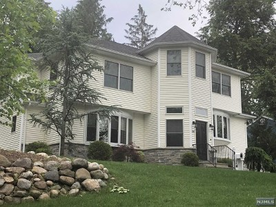 Closter Single Family Home For Sale: 297 Schraalenburgh Road