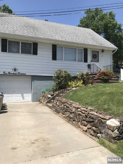 Totowa Single Family Home For Sale: 114 Highview Avenue
