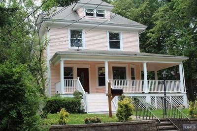 Leonia Single Family Home For Sale: 173 Prospect Street