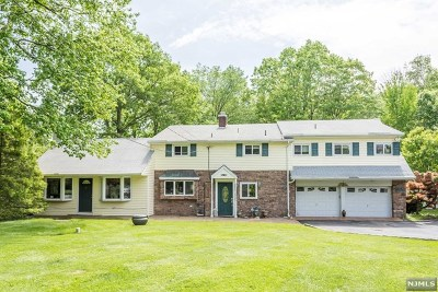 Upper Saddle River Single Family Home For Sale: 86 Old Stone Church Road
