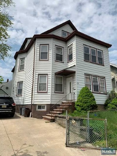 Paterson Multi Family 2-4 For Sale: 394-396 East 19th Street
