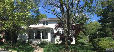 Englewood Cliffs Single Family Home For Sale: 288 Alfred Avenue