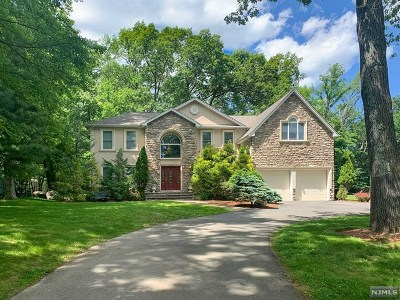 Woodcliff Lake Single Family Home For Sale: 55 Prospect Avenue
