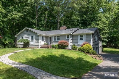 Upper Saddle River Single Family Home For Sale: 29 Ripplewood Drive