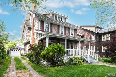 Rutherford Single Family Home For Sale: 22 East Newell Avenue