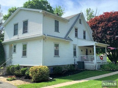 North Haledon Single Family Home For Sale: 102 Graham Avenue