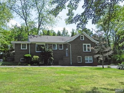 Montvale Single Family Home For Sale: 26 North Kinderkamack Road