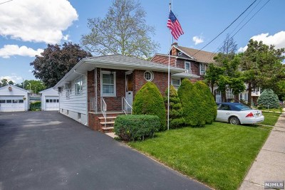 Rutherford Single Family Home For Sale: 468 Riverside Avenue