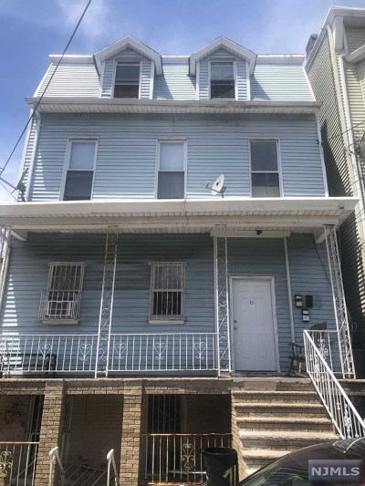 Paterson Multi Family 2-4 For Sale: 13 Ward Street