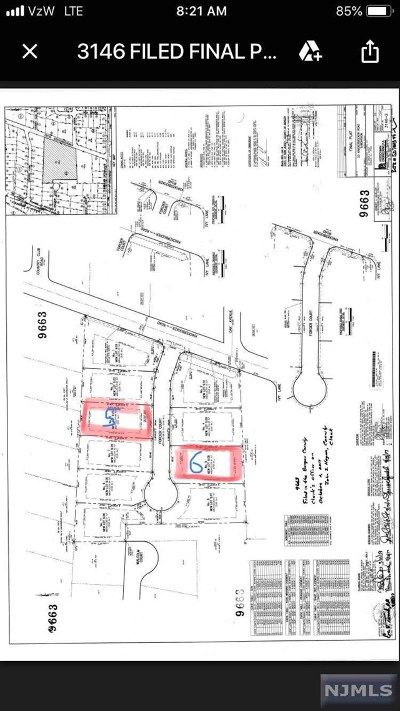 Tenafly Residential Lots & Land For Sale: 5 Forcier Court