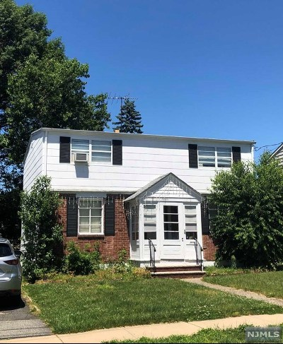 Clifton Single Family Home For Sale: 32 Fordham Road