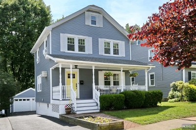 Oradell Single Family Home For Sale: 41 Windsor Road