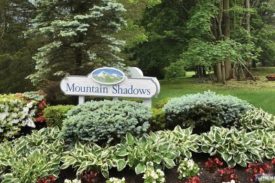 Franklin Lakes Condo/Townhouse For Sale: 67 Bentley Drive