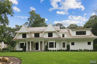 Franklin Lakes Single Family Home For Sale: 351 Crescent Drive