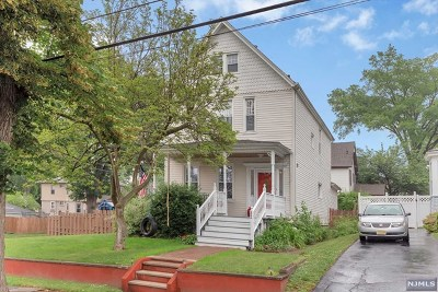 Rutherford Single Family Home For Sale: 82 Francisco Avenue