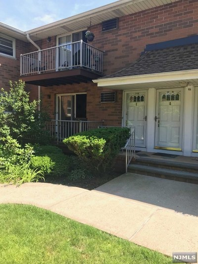 Midland Park Condo/Townhouse For Sale: 15 Cottage Street #3a