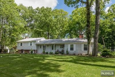 Upper Saddle River Single Family Home For Sale: 55 Mill Glen Road