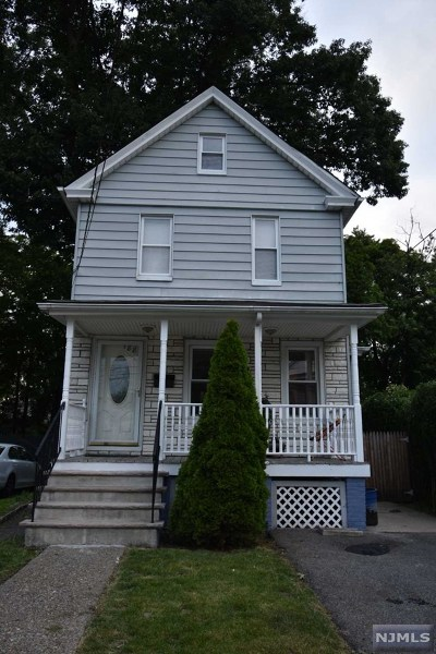Hackensack Single Family Home For Sale: 188 Clay Street