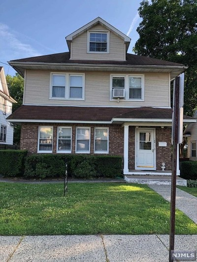 Englewood Multi Family 2-4 For Sale: 144 West End Avenue