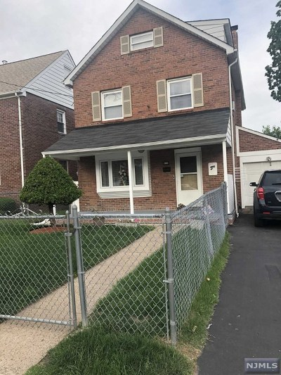 Paterson Single Family Home For Sale: 293-295 East 25th Street
